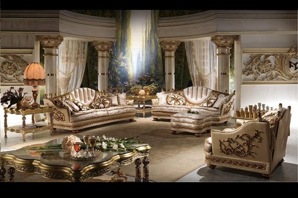 欧式新奢华客厅